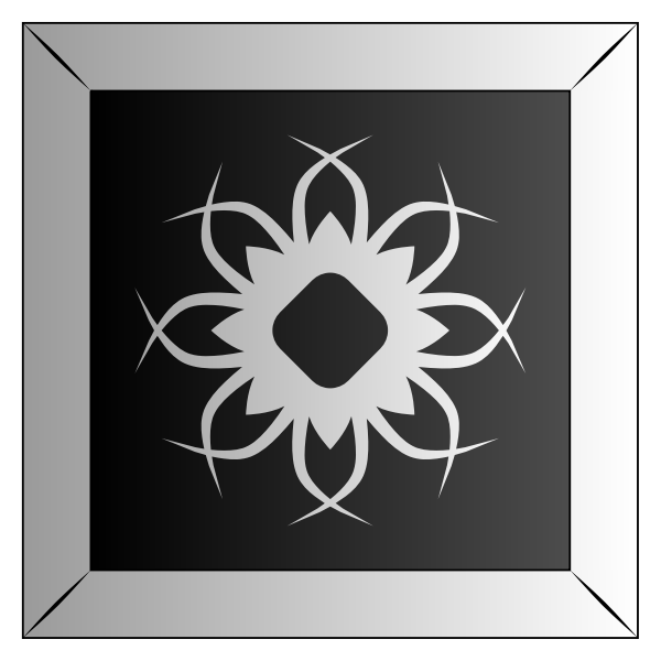 Abstract Tile 61