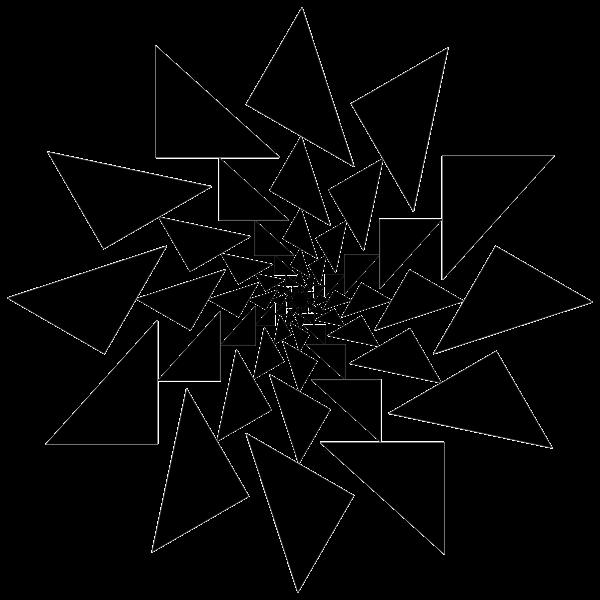 Abstract Vortex 34