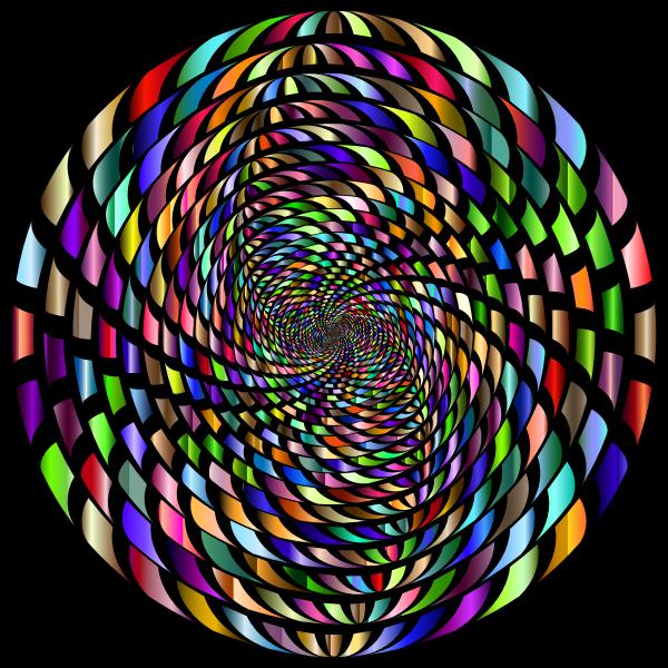 Abstract prismatic vortex variation