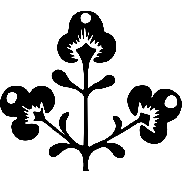 Flower silhouette (#3)