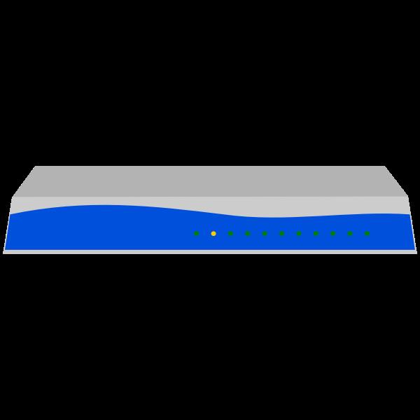 Adtran Total Access 924e wifi router vector illustration