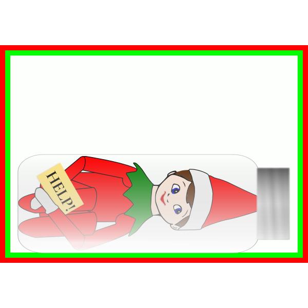 Alanspeak Elf On The Shelf 02 Free Svg