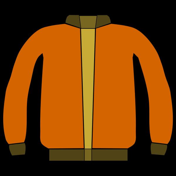 Jacket vector drawing