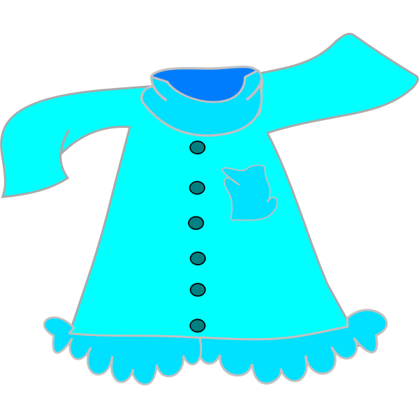 Blouse vector graphics