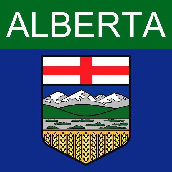 Alberta symbol vector graphics
