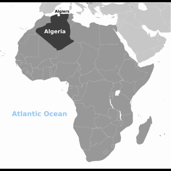 Algeria location