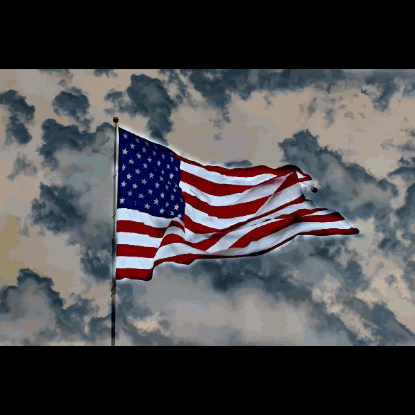 American Flag 2015060134