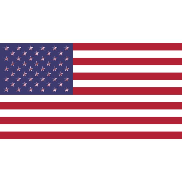 American Flag Fractal
