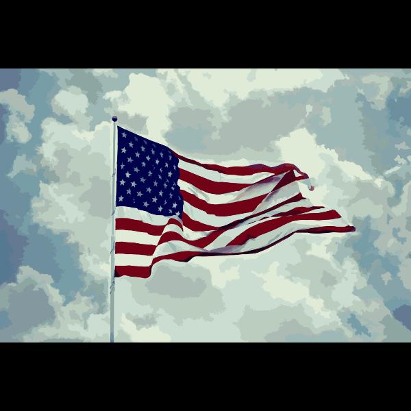 American Flag Photo 2015060124