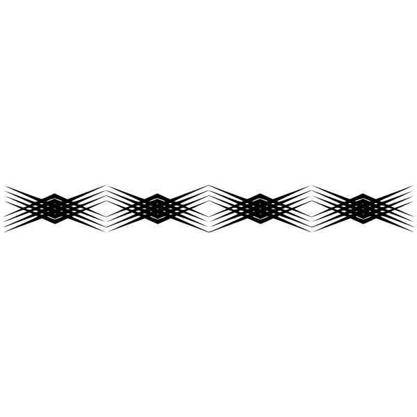Vector graphics of rhomboid grey border