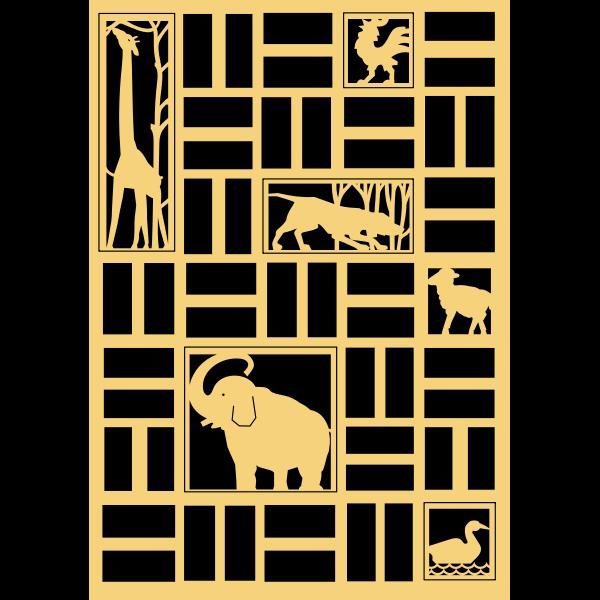 Animals panel