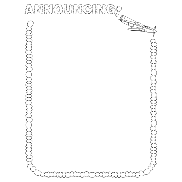 Announcing (US size)