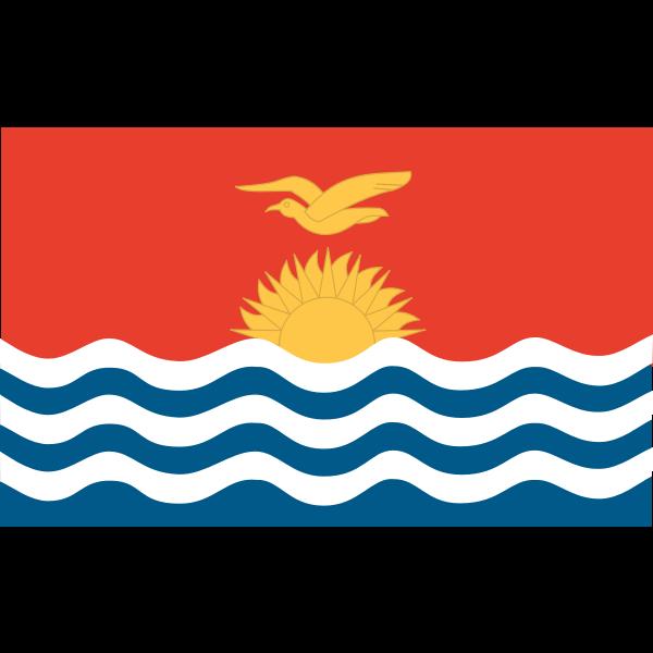 Anonymous Flag of Kiribati