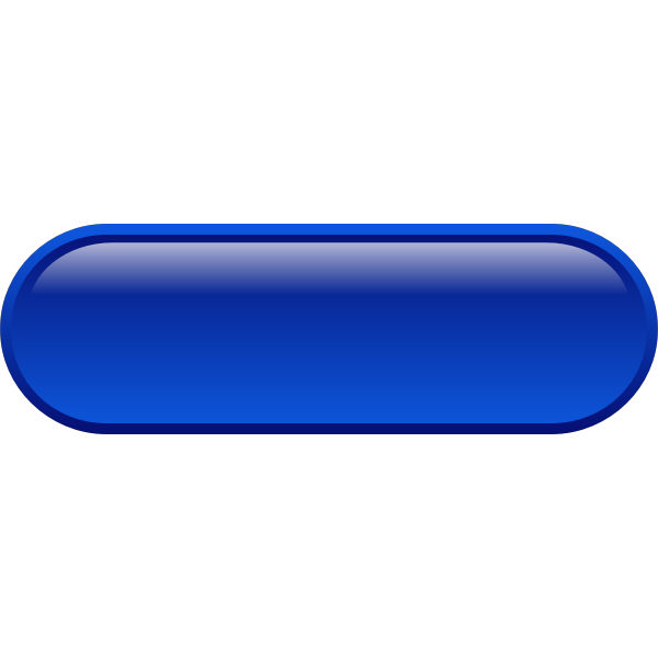 Pill shaped blue button vector drawing