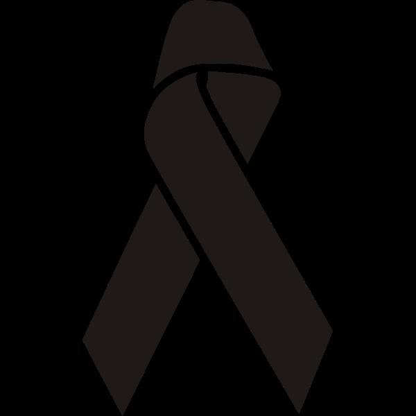 Illness awareness ribbon.