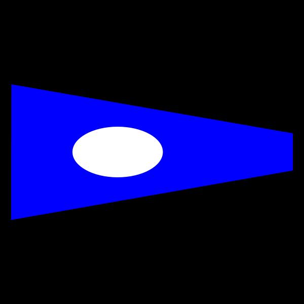 Signal flag vector image