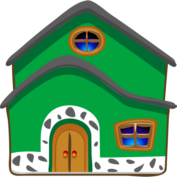 Vector image of a house