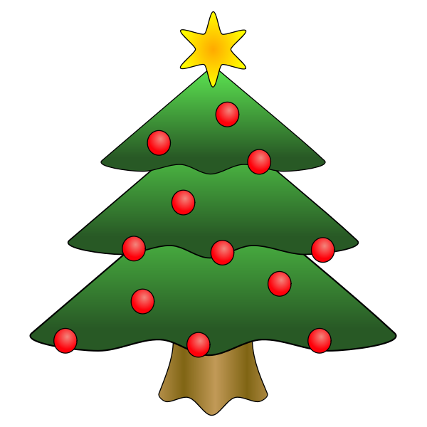 Christmas vector tree