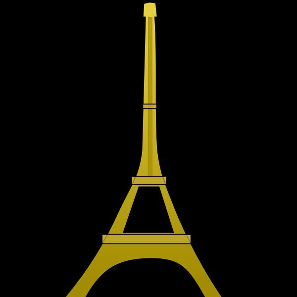 Eiffel tower vector graphics