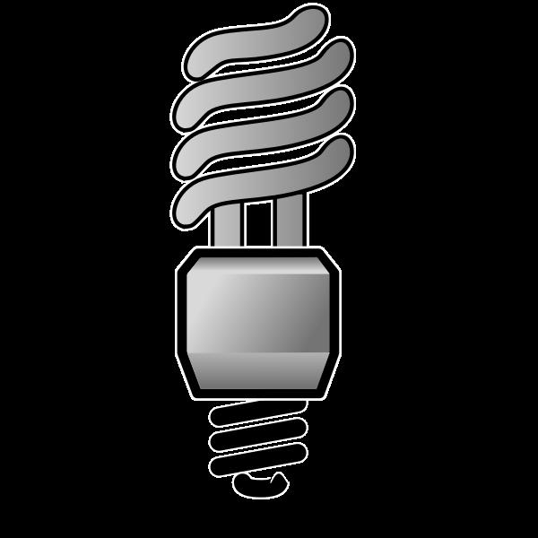 Energy saver lightbulb OFF vector image
