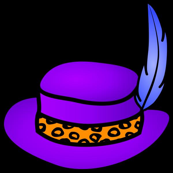 Pimp hat vector image