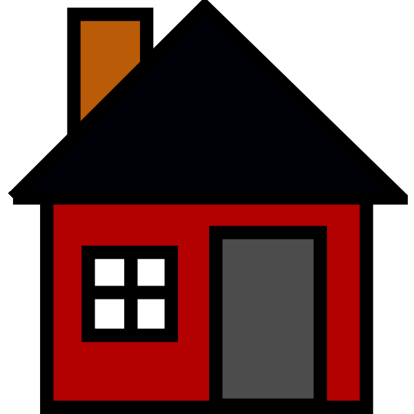 Vector graphics of house