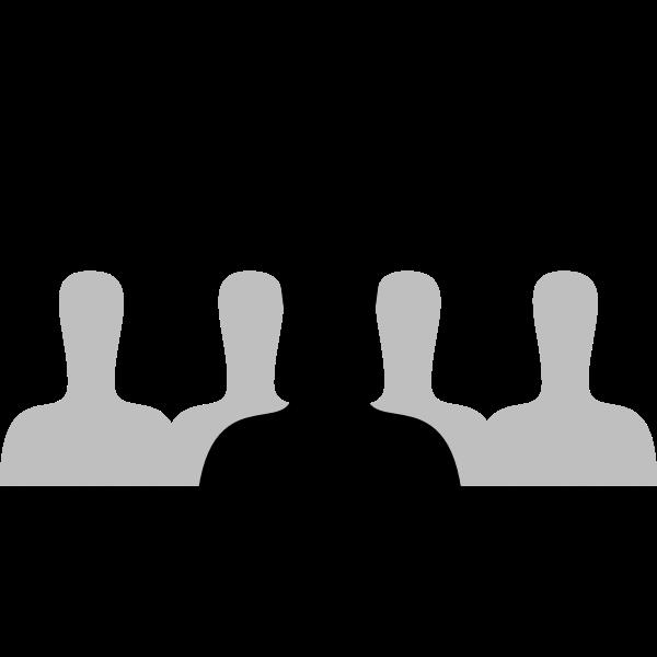 User icon vector graphics