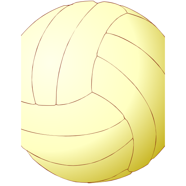 Volleyball ball vector illustration