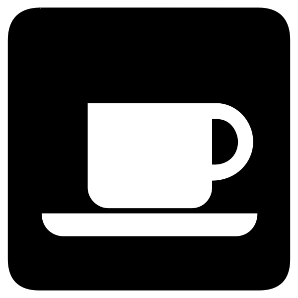 Vector icon for coffee