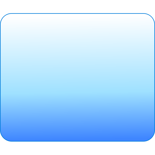Blank icon square vector Image