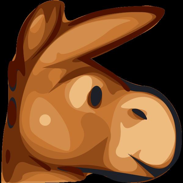 Mule vector illustration