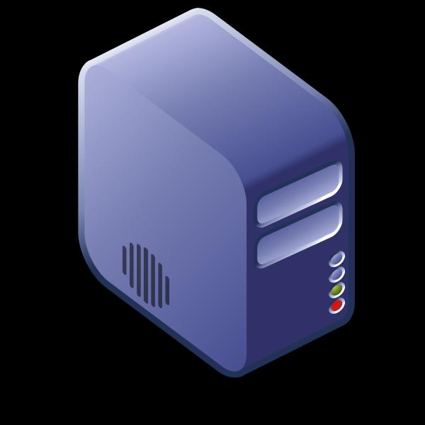 Server diagram icon vector image