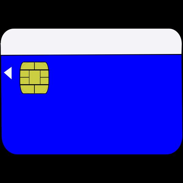 Smartcard vector image