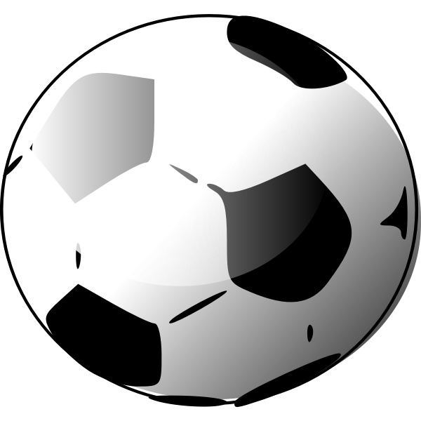 Vector illustration of soccer ball