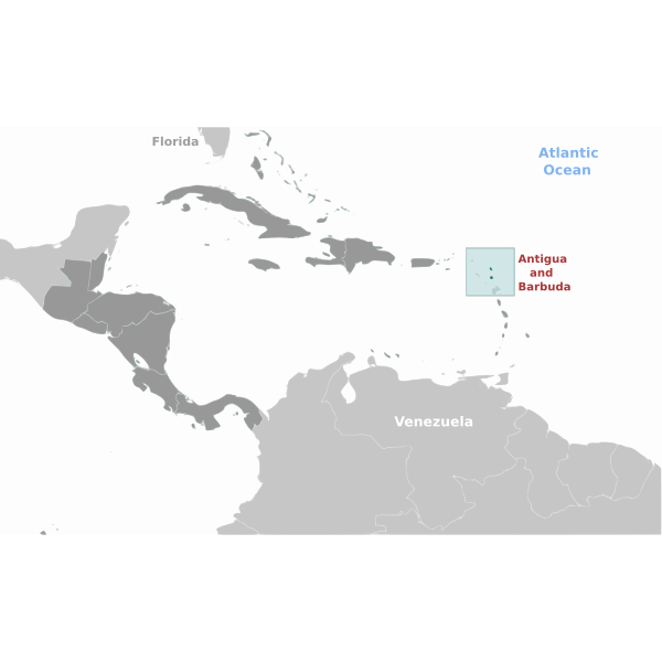 Antigua and Barbuda location image