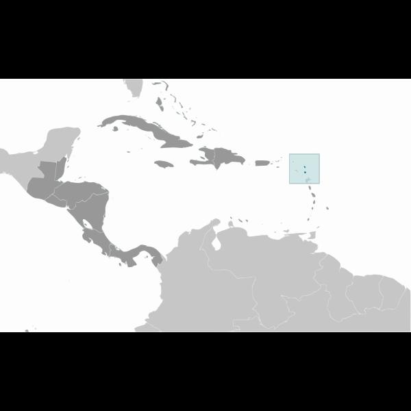 Antigue and Barbuda location
