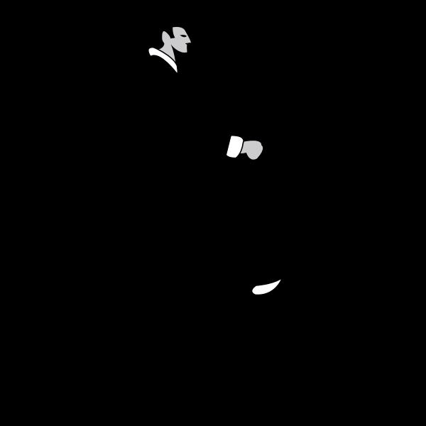 Penny-farthing vector illustration