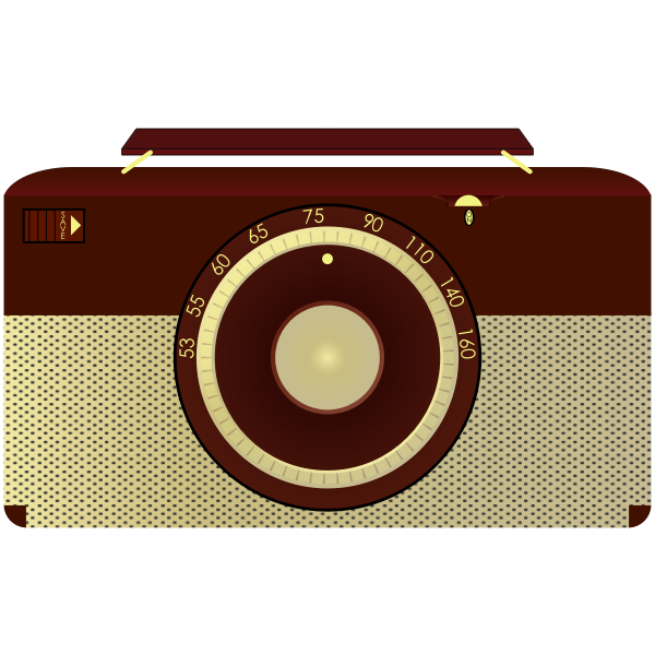 Antique radio image