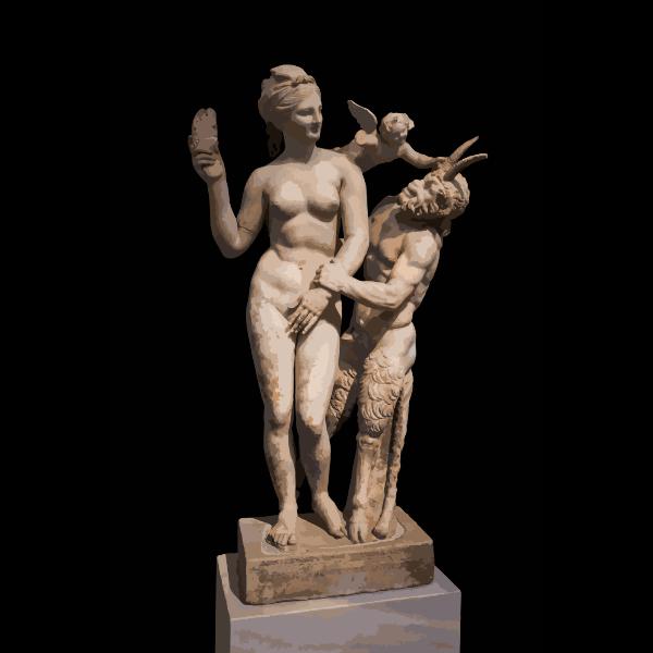 Aphrodite Pan Eros NAMA 3335 Athens Greece 2016122154