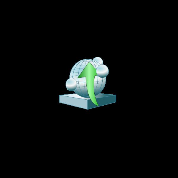 App server platform up vector image