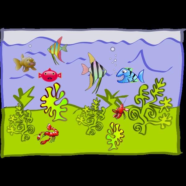 underwater world - aquarium