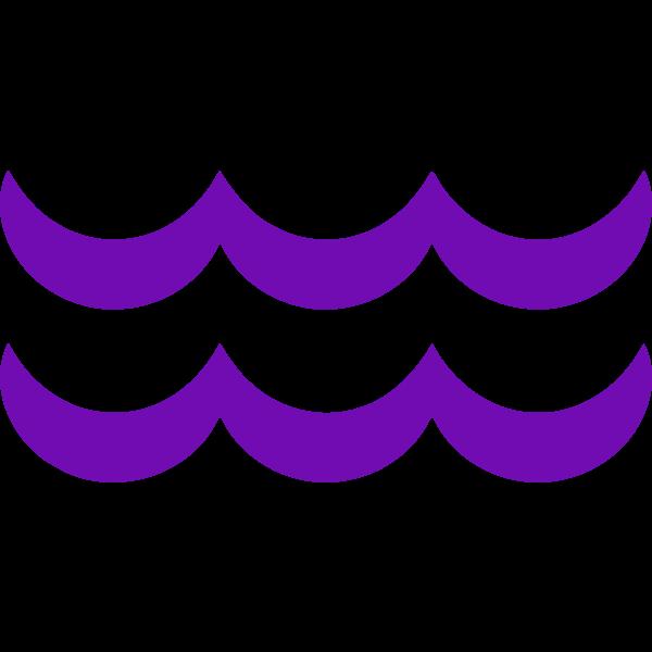 Violet Aquarius symbol
