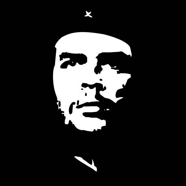 Che Guevara portrait vector image