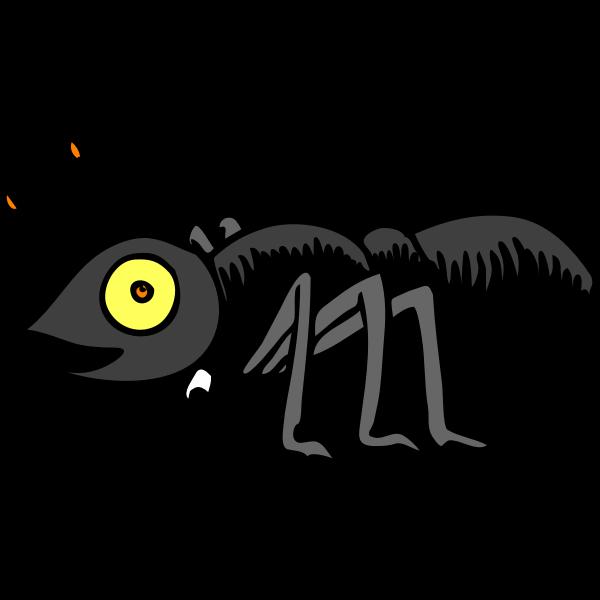 Cartoon ant