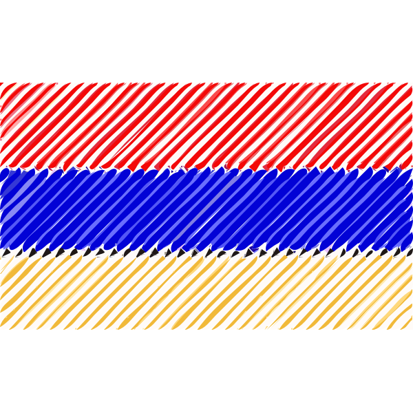 Armenia flag linear 2016082936