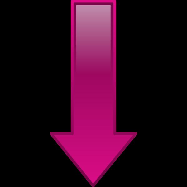 Arrow Down Purple