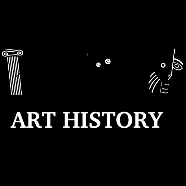 Art history vector image