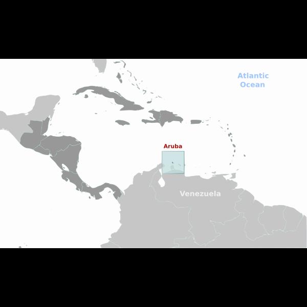 Aruba location label