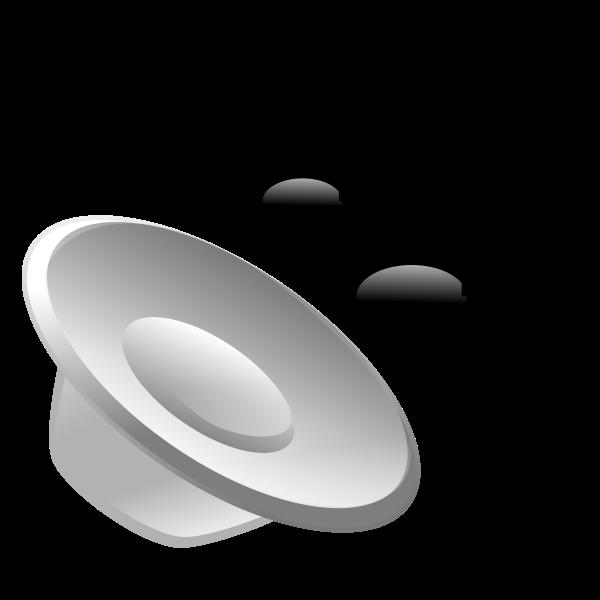 Audio file icon vector graphics