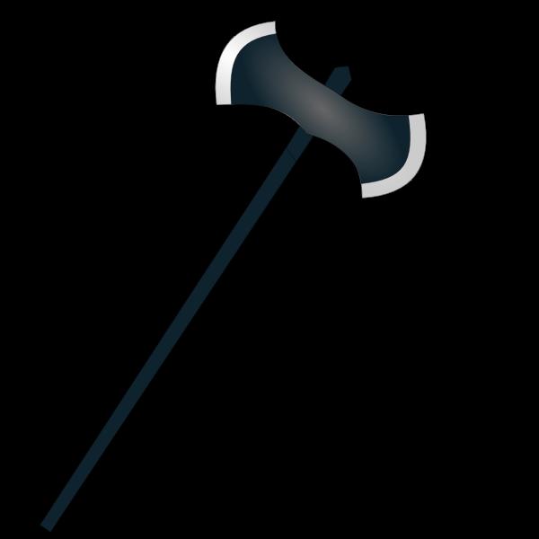 Halloween axe icon vector graphics